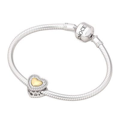 Golden Heart Charm