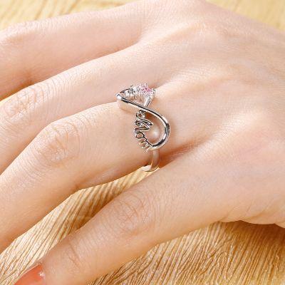 Mom's Infinite Love Ring
