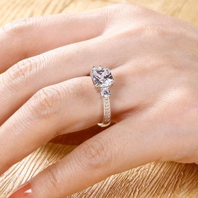 Customized Ring With Cz