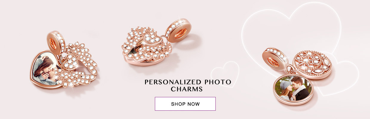 Personalized Photo Charms